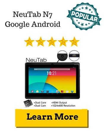NeuTab N7 Google Android Review