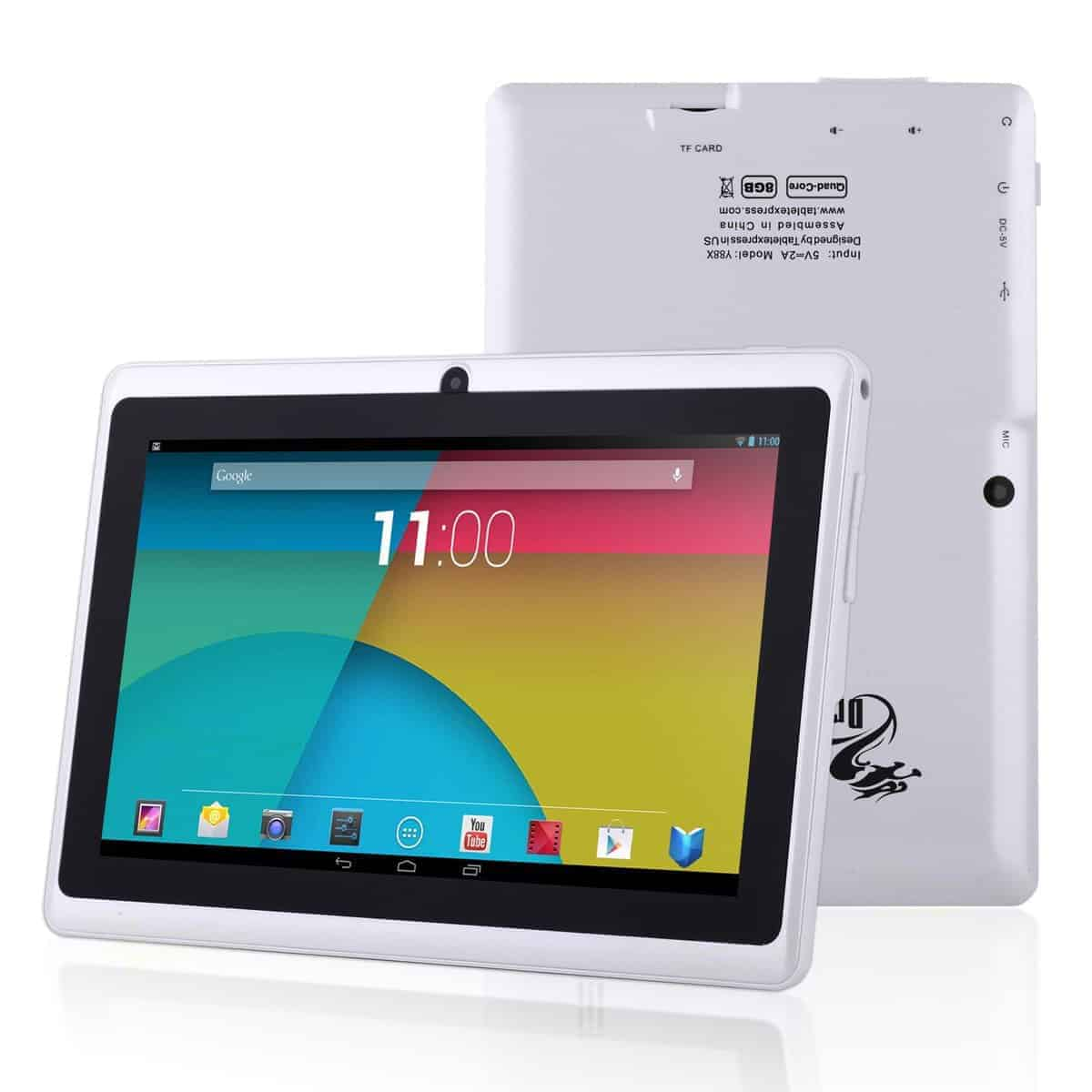 Dragon Touch Y88X Android tablet PC Review