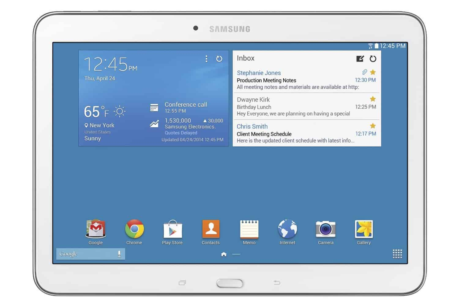 Samsung Galaxy Tab 4 Tablet Review
