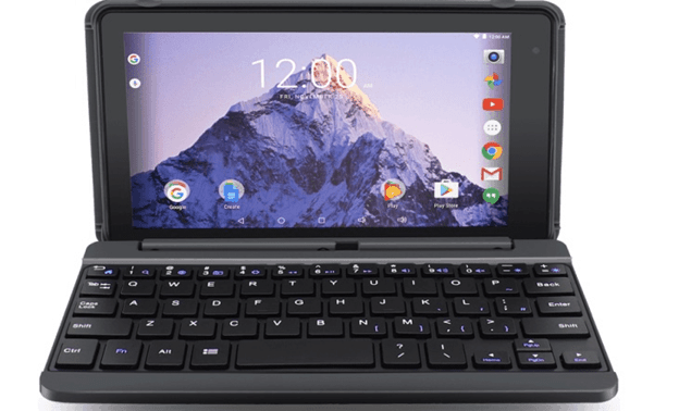 RCA 7 inch tablet with keyboard
