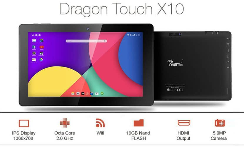 Dragon Touch X10 Review
